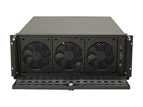 - Rosewill 4U Server Chassis/Server Case/Rackmount Case, Metal Rack Mount Computer Case Support with 15 Bays & 7 Fans Pre-Installed (RSV-L4500)