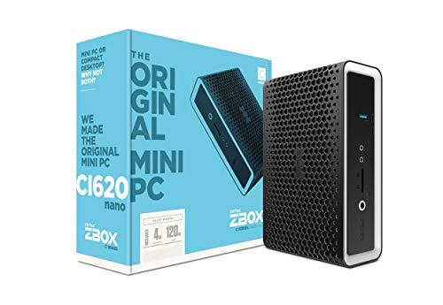ZOTAC ZBOX CI620 Nano Plus Silent Mini PC 8th Gen Intel Core i3-8130U UHD 620 4GB DDR4/120GB SSD/No OS (ZBOX-CI620NANO-P-U) by ZOTAC (Image #11)
