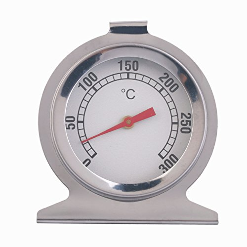 Oven Thermometer - 1 Piece Stainless Steel Timer Oven Thermometer Kitchen Cooking Meat Tool Bakeware Tool Temperature Instruments