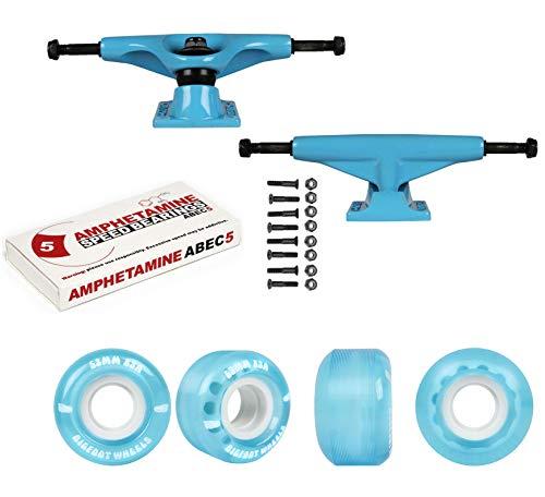 Tensor Skateboard Trucks Aluminum Blue 5.0