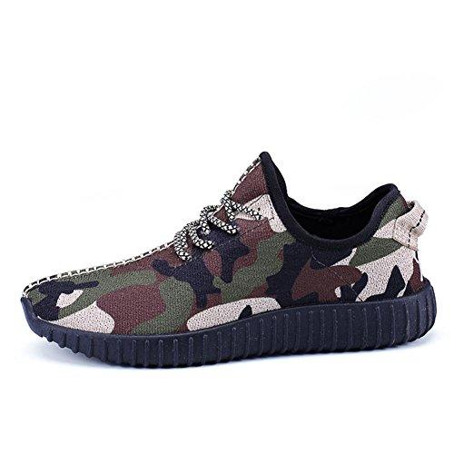 maille respirant pour de hommes chaussures garçons camouflage en d'été léger d'automne sport camouflage décontractées et de et Baskets 6Iw5F8n
