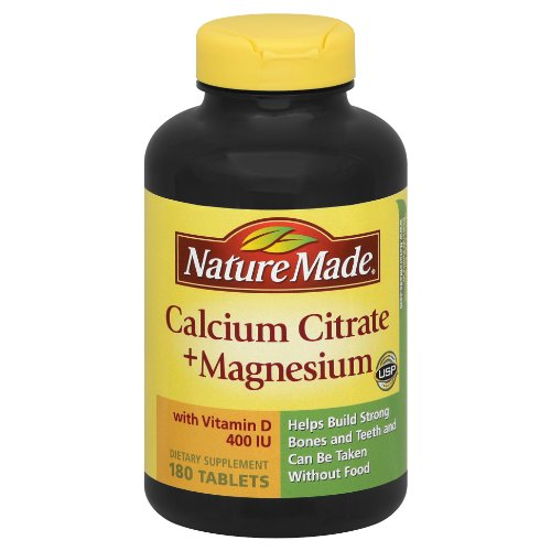 Nature Made calcium Citrate de