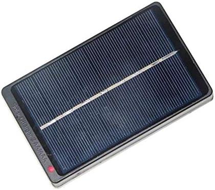 Goldyqin 1 W 4 V Placa de panel solar, cargador, caja de carga de ...