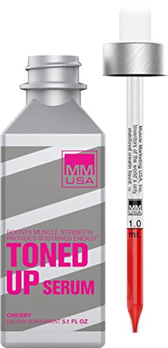 MMUSA TONED UP CREATINE SERUM for women.  Up Your Fitness with Pre-Workout Lean Muscle Building with L Carnitine + Taurine. Build Strength & Endurance. Anti-Inflammatory for explosive exercise.