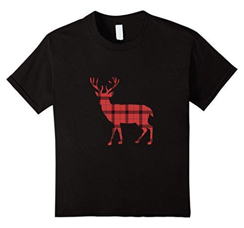 Plaid Boys T-Shirt - 8
