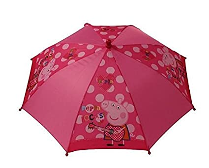 6e093fd77db9f Buy Peppa Rocks Peppa Pig Little Girls Umbrella Online at Low Prices in  India - Amazon.in