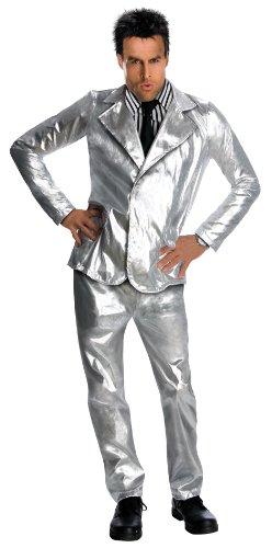 Zoolander Costume, Silver, -