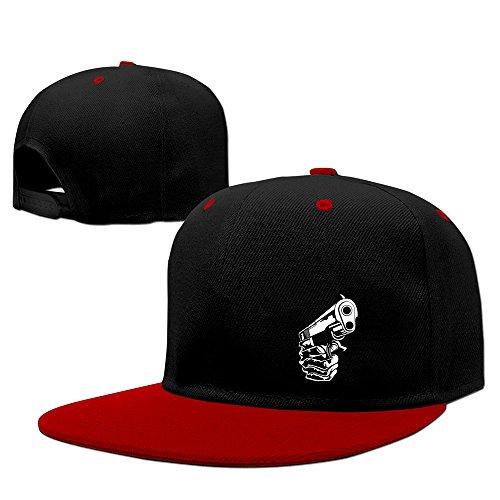 BestSeller Unisex Make My Day Hip Hop Snapback Adjustable Baseball Caps/Hats Red