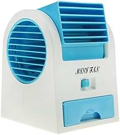 Ylucky USB Mini Air Conditioner Fan Evaporative Air Circular Small Quiet Personal...