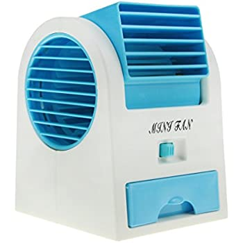 Amazon Com Portable Air Conditioner Fan Usb Battery