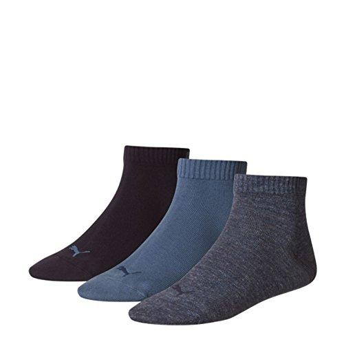 Puma Uomo 3p Sneaker Invisible Denim Calza Blu rICxrw5