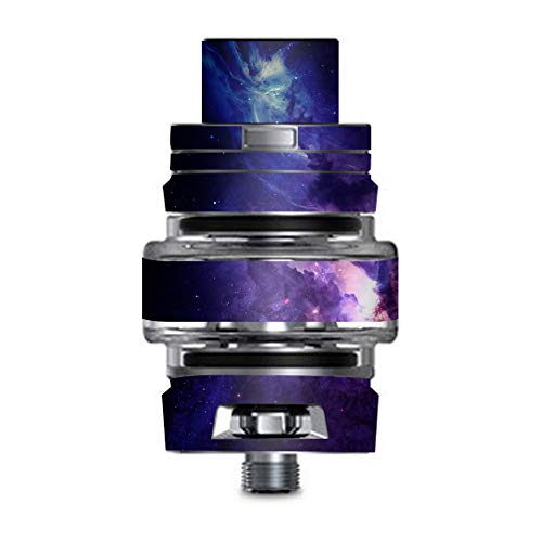 IT'S A SKIN Decal Vinyl Wrap for Smok TFV8 Big Baby V2 Tank Sticker Sleeve/Dark Solar Burst Galaxy Nebula ()