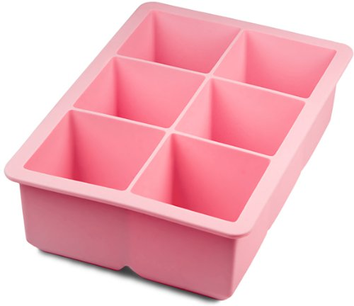 Tovolo King Cube Ice Tray - Pink