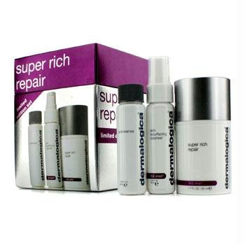 Dermalogica Super Rich Repair Limited Edition Set: Super Rich Repair 50ml + Precleanse 30ml + Skin Resurfacing Cleanser 30ml 3pcs