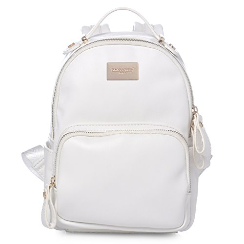 Best White Leather Backpack Purses: Amazon.com DQ37