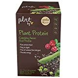 plnt Plant Protein Vanilla with Complete Amino Acid Profile, NonGMO, Vegan Raw Protein Blend Easy to Digest Provides Energy Support (12 Packets) Review