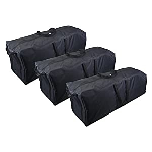 RoofBag 100% Waterproof Carrier Bundle -Fits ALL Cars: Includes 3 Carrier Liner Bags for Easy Packing + Protective Roof Mat + Heavy Duty Straps + Cross Country Soft Car Top Carrier - Made in USA