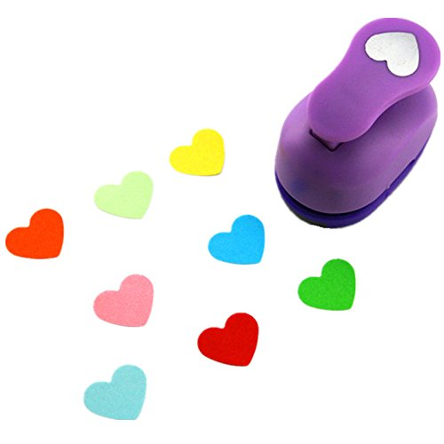 CADY Crafts Punch 1-Inch paper punches (Heart)