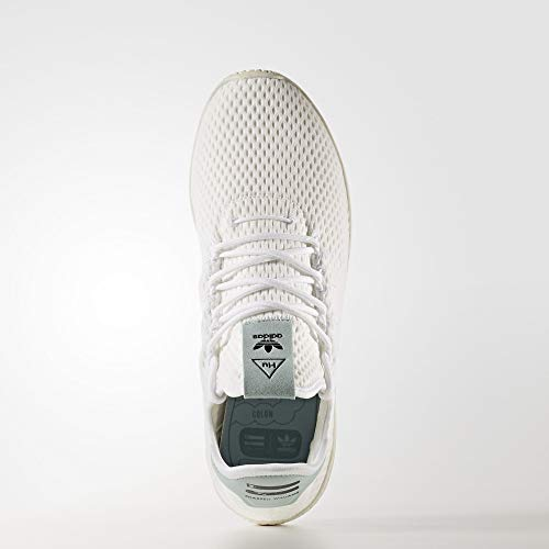 adidas Originals Men's Pharrell Williams Human Race White/White/Green 4 D US D (M) by adidas Originals (Image #3)