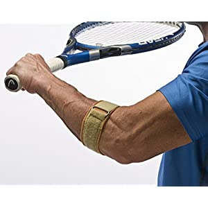 "Cho-Pat Tennis Elbow Support Strap - Comfortable, Adjustable, Targeted Forearm Support (XL, 13.5""-15"")"