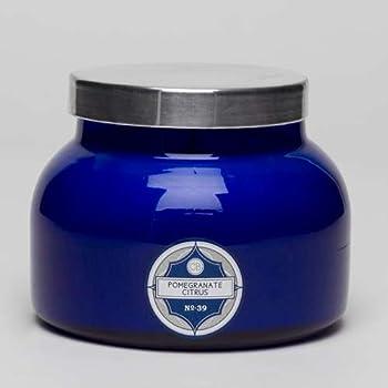 Aspen Bay Capri Blue Signature Jar Candle - Pomegranate Citrus
