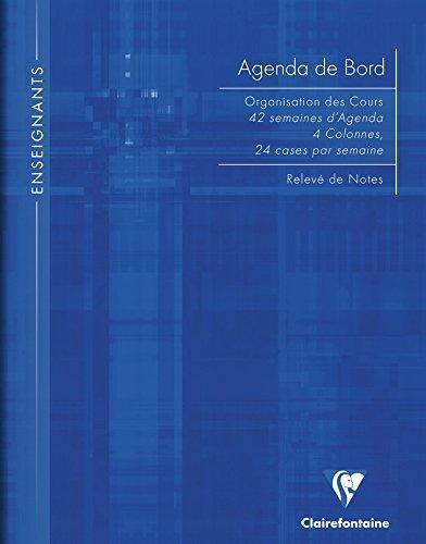 Clairefontaine 9059C - Agenda para profesores (144 páginas ...