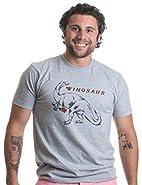 Winosaur   Funny Wine Lover Dinosaur Humor Drinking Unisex T-shirt