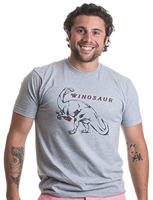 Winosaur | Funny Wine Lover Dinosaur Humor Drinking Unisex T-shirt