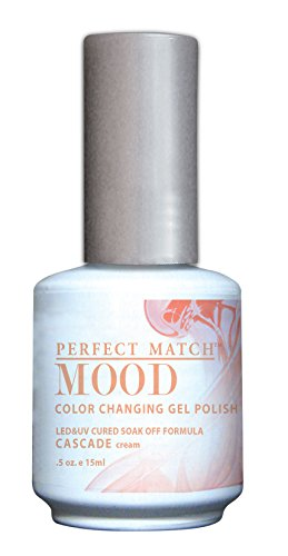 LECHAT Perfect Match Mood Gel Polish, Cascade, 0.500 Ounce