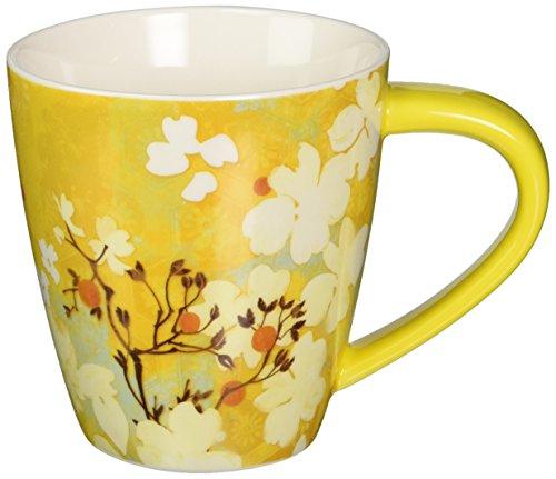 LANG 2121010 Saffron Butterfly Cafe Mug (Saffron Mug)