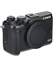 Canon EOS M6 BODY BKO Digital Camera, Black