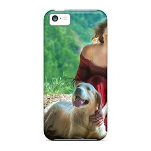 High Quality OCOBaqI2053aNXvh Girl And Her Dog Tpu Case For Iphone 5c