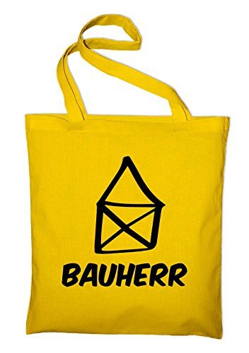 House Jute Yellow yellow Tasche In Fabric And Bag Builders Builder Bag Cotton Styletex23bagbauh8 F4qRaRxH