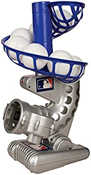 Franklin Sports MLB Electronic Baseball Pitching Machine – Height Adjustable – Ball Pitches Every 7 Seconds –