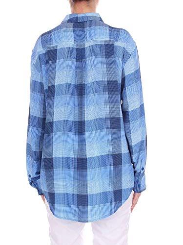 Q2326e035blue Seda Equipment Mujer Azul Claro Camisa T7AqUq5R