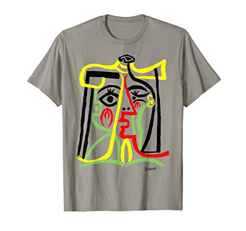Pablo Picasso Tete De Femme (Head Of A Woman)T Shirt Artwork