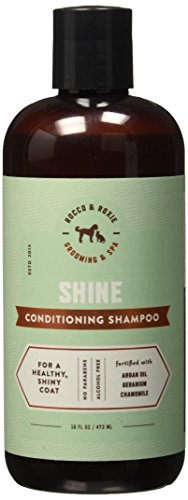 Argan Oil Dog Shampoo and Conditioner - Healthy Shiny Coat - With Geranium, Chamomile - Best Natural Pet Wash