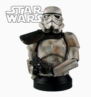Star Wars Celebration 3 Limited Edition Sandtrooper Corporal Collectibe Bust - Gentle (Gentle Giant Star Wars Busts)