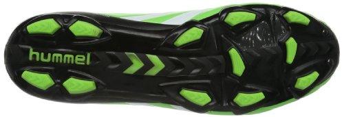 Hummel RAPID X BLADE-PU, Scarpe da calcio unisex adulto Verde (Grün (Green Gecko 6595))