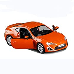 GYZS-TOY Toyota GT86 Alloy Car Model Small Steel Gun Coupe Simulation Car Open Door Hatchback Pull Back Car by GYZS-TOY