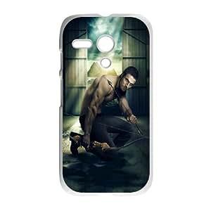 Green Arrow ROCK5091106 Phone Back Case Customized Art Print Design Hard Shell Protection Motorola G