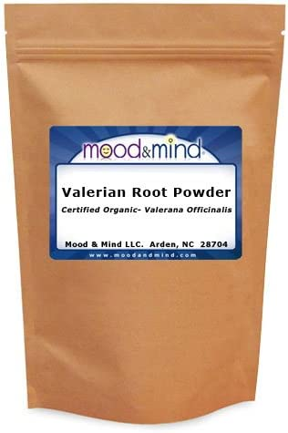 Organic Valerian Root Powder – Valeriana Officinalis Mood Mind 4 oz. 112g.