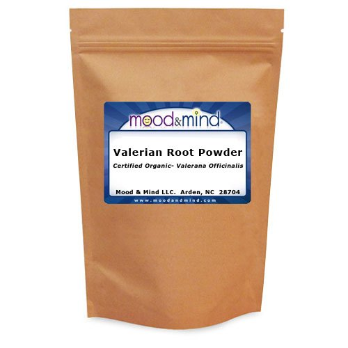 Organic Valerian Root Powder - Valeriana Officinalis (Mood & Mind) 4 oz. (112g.)