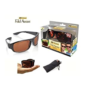 Hd Vision Fold Aways Sunglasses