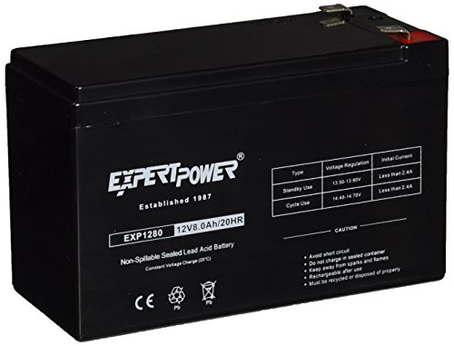 ExpertPower EXP1280 12V8AH Rechargeable Battery