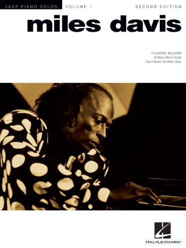 Music Vocal Sheet Jazz (Miles Davis  Songbook: Jazz Piano Solo Series Volume 1 (Jazz Piano Solos Series))