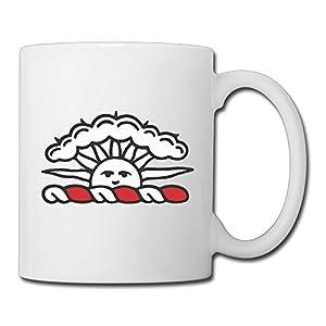 Christina Brown University Logo Ceramic Coffee Mug Tea Cup White