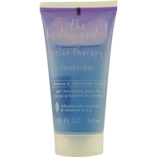 Price comparison product image The Healing Garden Relax Therapy Body Wash Lavender 1.85 Oz. (Travel Size)