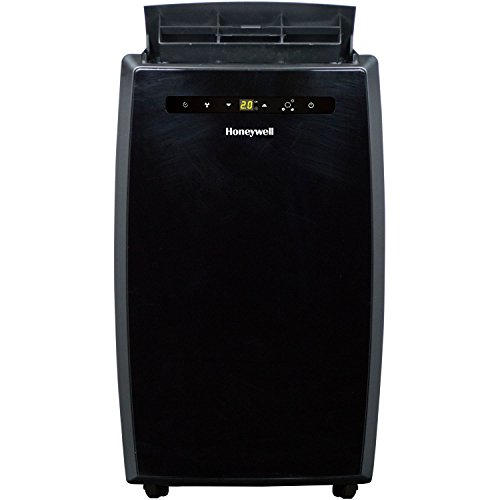 Honeywell MN10CESBBRBX Portable Air Conditioner with Dehumidifier & Fan for Rooms Up To 450 Sq. Ft. with Remote Control (Black)