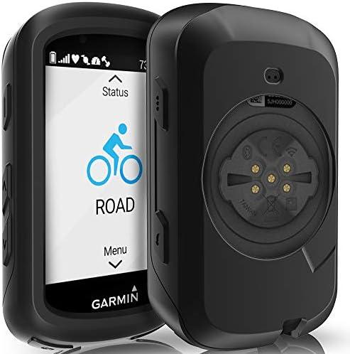 TUSITA Case for Garmin Edge 530 – Anti Drop Silicone Protective Cover – Cycling GPS Computer Accessories